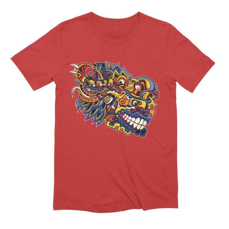 IFC_Design_C02 Men's Extra Soft T-Shirt by Art of Yaky Artist Shop