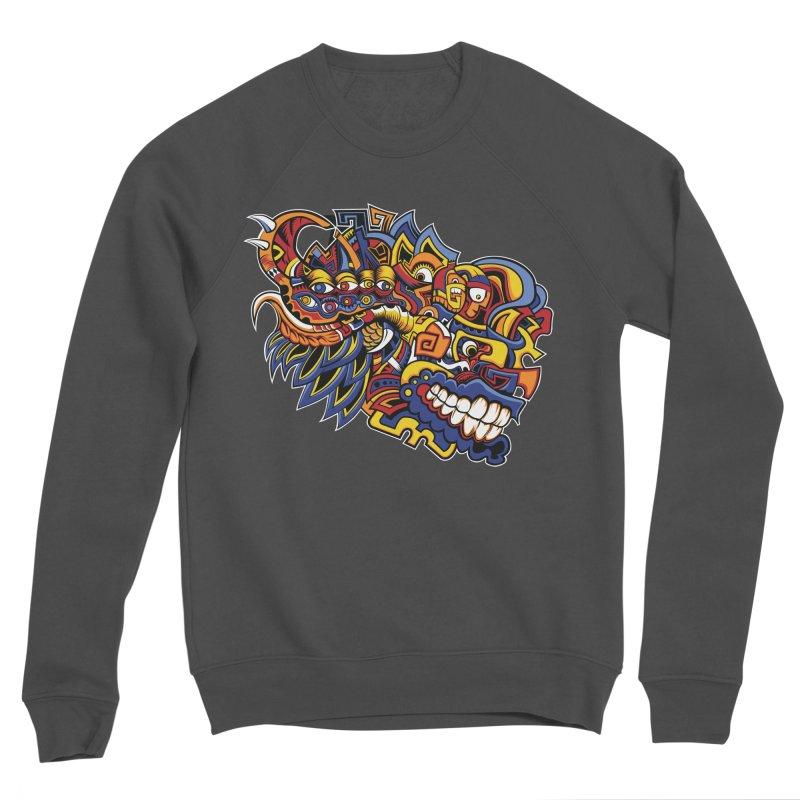 IFC_Design_C02 Men's Sponge Fleece Sweatshirt by Art of Yaky Artist Shop