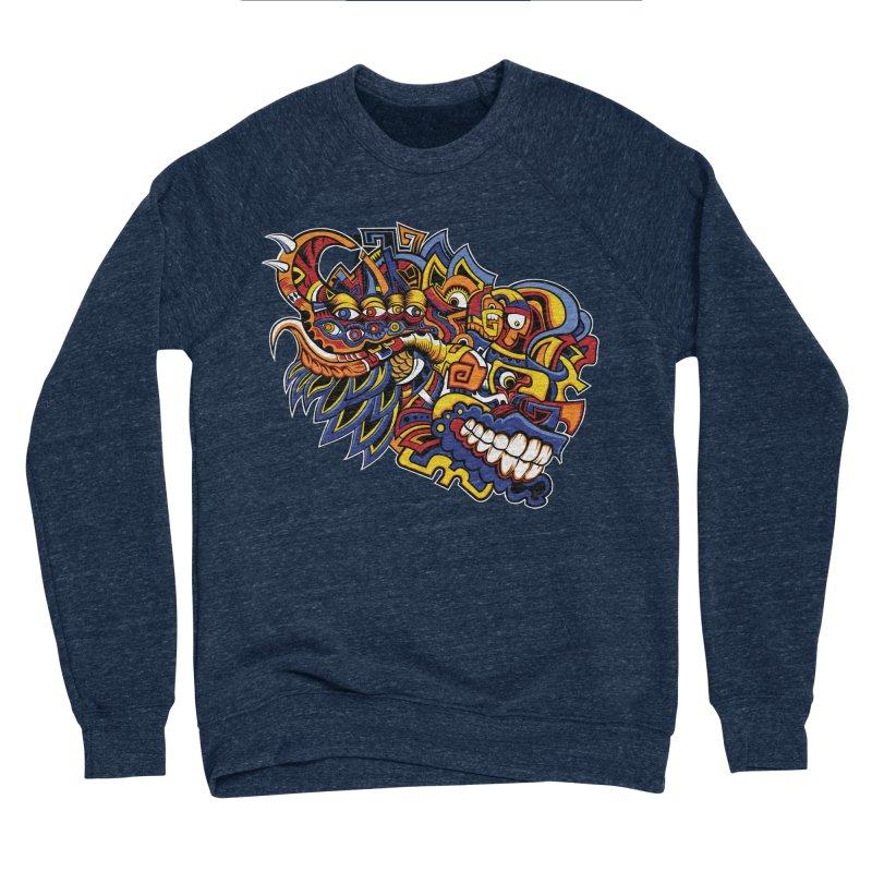 IFC_Design_C02 Women's Sponge Fleece Sweatshirt by Art of Yaky Artist Shop