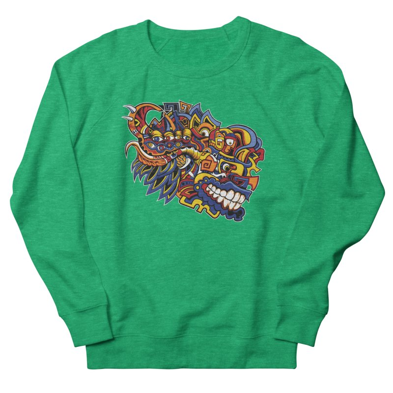IFC_Design_C02 Women's Sweatshirt by Art of Yaky Artist Shop