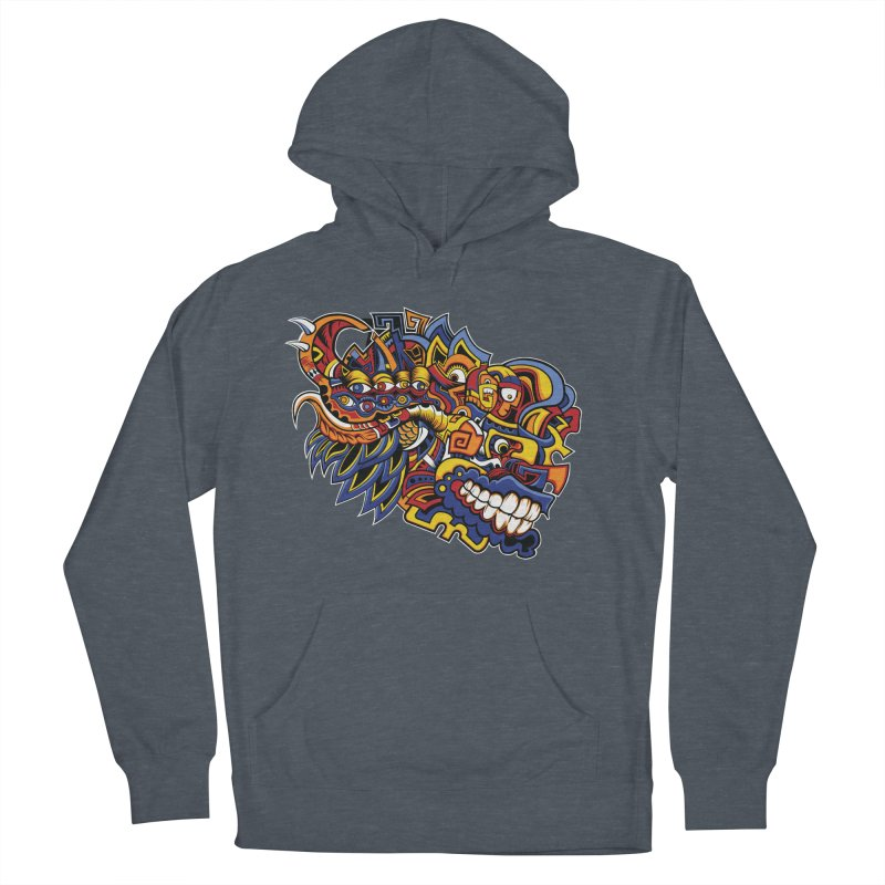 IFC_Design_C02 Women's French Terry Pullover Hoody by Art of Yaky Artist Shop