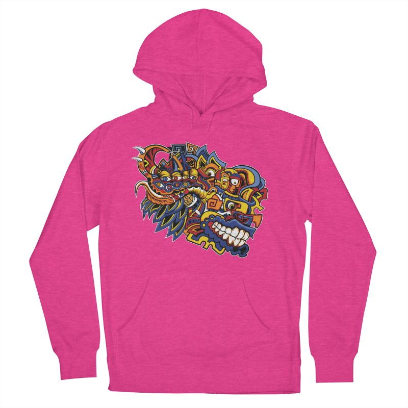 IFC_Design_C02 Men's French Terry Pullover Hoody by Art of Yaky Artist Shop