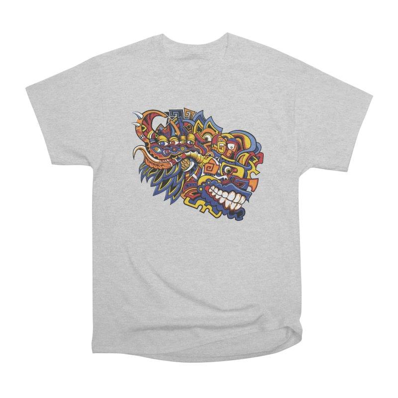 IFC_Design_C02 Men's Heavyweight T-Shirt by Art of Yaky Artist Shop