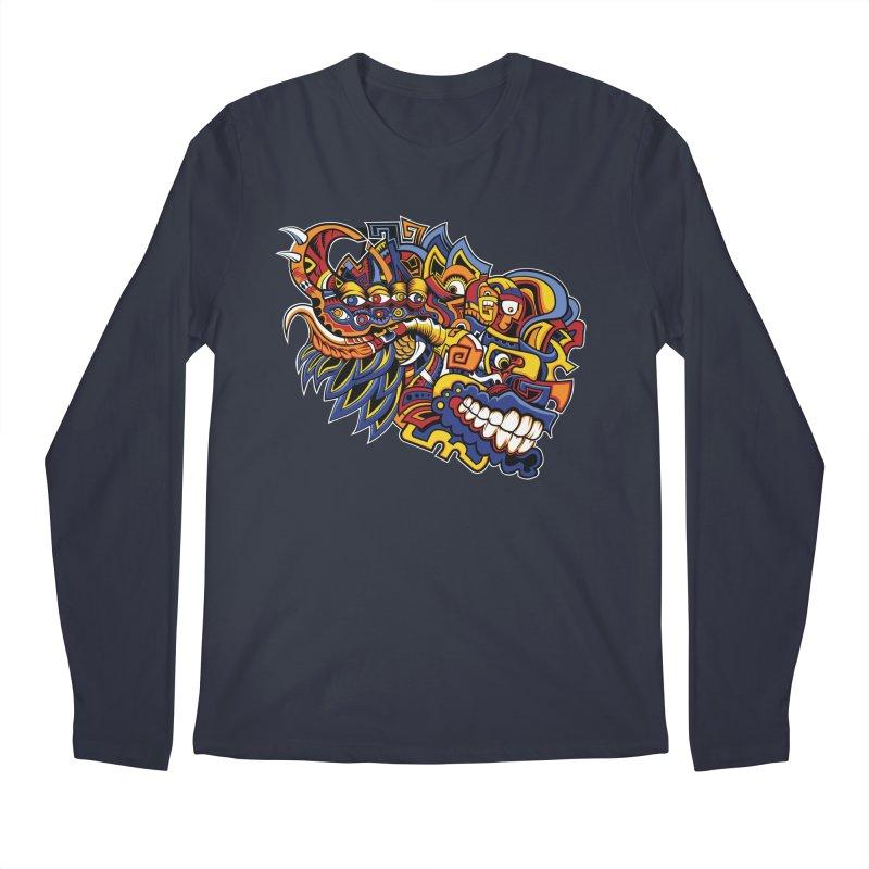IFC_Design_C02 Men's Regular Longsleeve T-Shirt by Art of Yaky Artist Shop