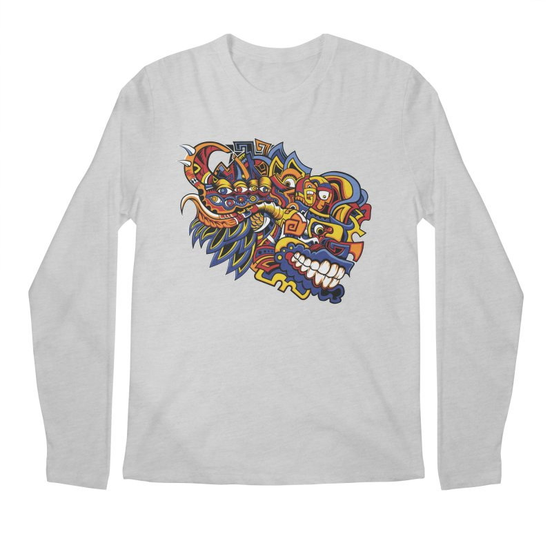 IFC_Design_C02 Men's Regular Longsleeve T-Shirt by Art of Yaky Artist Shop