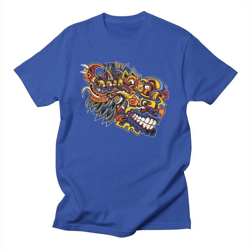 IFC_Design_C02 Men's Regular T-Shirt by Art of Yaky Artist Shop