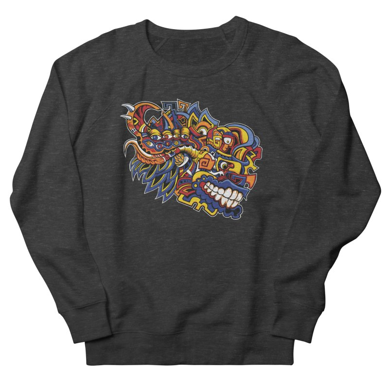IFC_Design_C02 Women's French Terry Sweatshirt by Art of Yaky Artist Shop