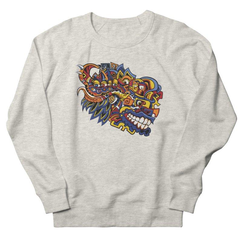 IFC_Design_C02 Women's French Terry Sweatshirt by Art of Yaky Artist Shop