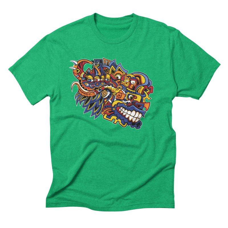 IFC_Design_C02 Men's Triblend T-Shirt by Art of Yaky Artist Shop