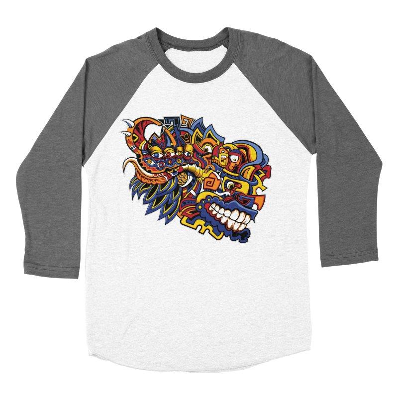 IFC_Design_C02 Women's Baseball Triblend Longsleeve T-Shirt by Art of Yaky Artist Shop