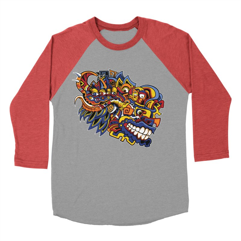 IFC_Design_C02 Women's Baseball Triblend Longsleeve T-Shirt by Art of Yaky Artist Shop