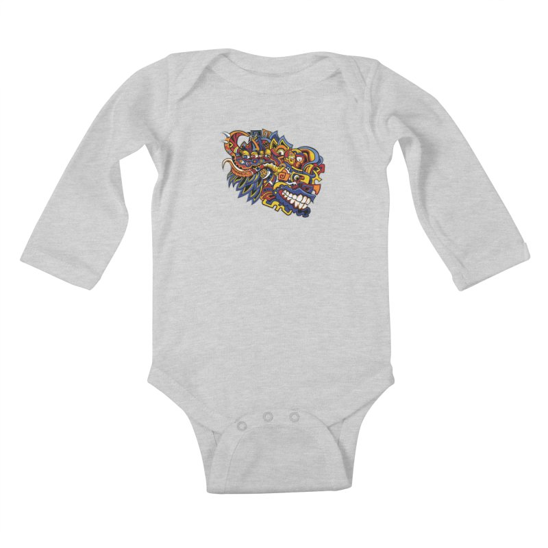 IFC_Design_C02 Kids Baby Longsleeve Bodysuit by Art of Yaky Artist Shop
