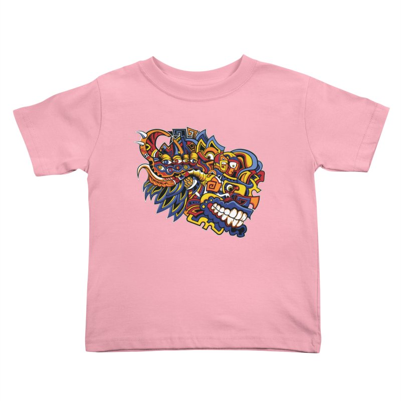 IFC_Design_C02 Kids Toddler T-Shirt by Art of Yaky Artist Shop