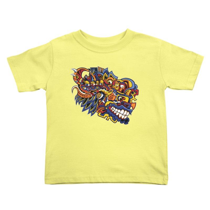 IFC_Design_C02 Kids Toddler T-Shirt by Art of Yaky Artist Shop