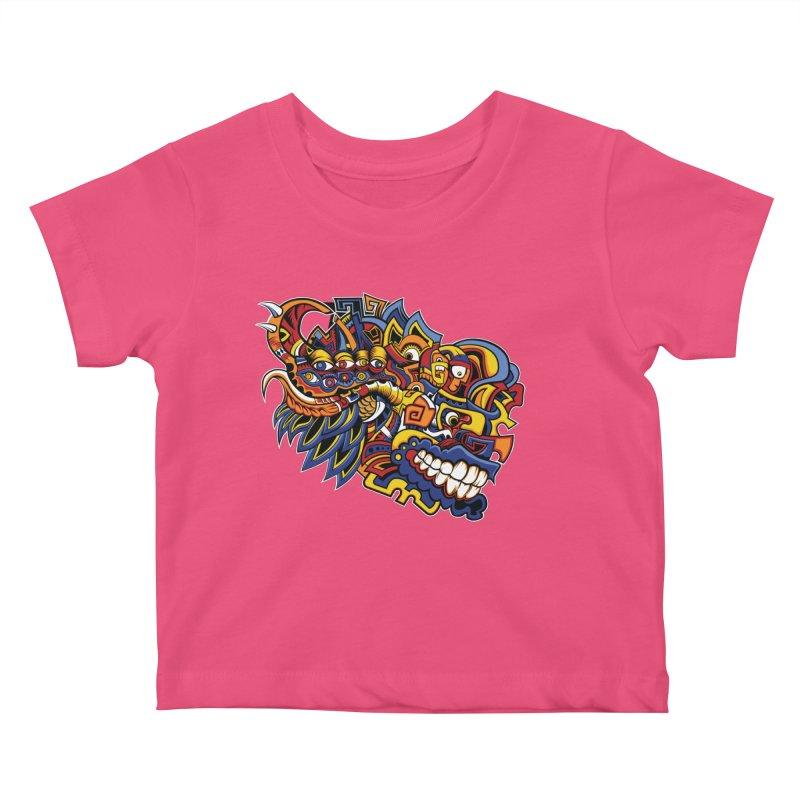 IFC_Design_C02 Kids Baby T-Shirt by Art of Yaky Artist Shop