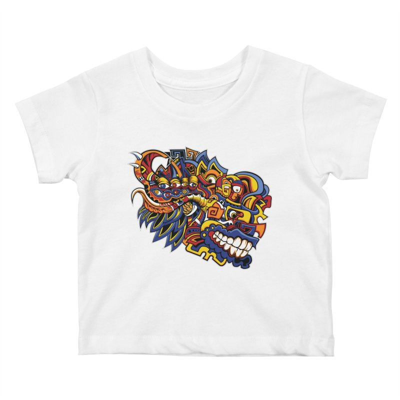 IFC_Design_C02 Kids Baby T-Shirt by Art of Yaky Artist Shop