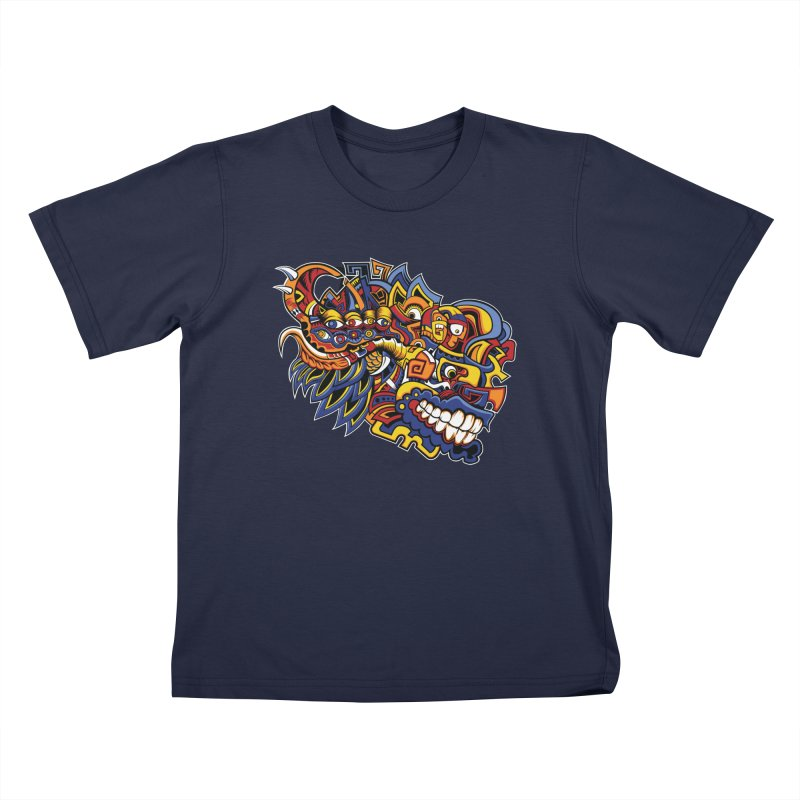 IFC_Design_C02 Kids T-Shirt by Art of Yaky Artist Shop