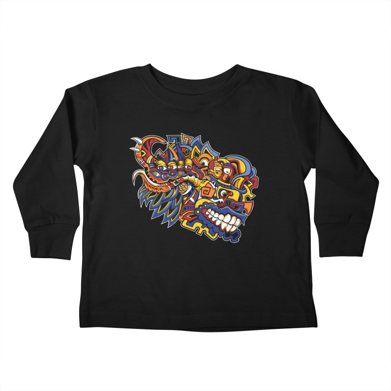 IFC_Design_C02 Kids Toddler Longsleeve T-Shirt by Art of Yaky Artist Shop