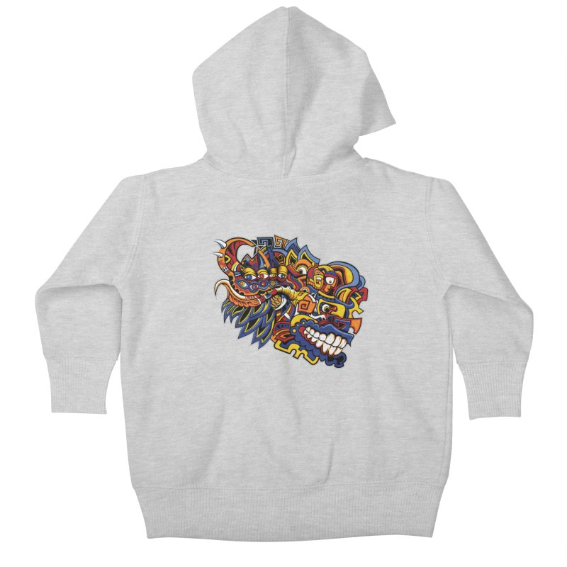 IFC_Design_C02 Kids Baby Zip-Up Hoody by Art of Yaky Artist Shop