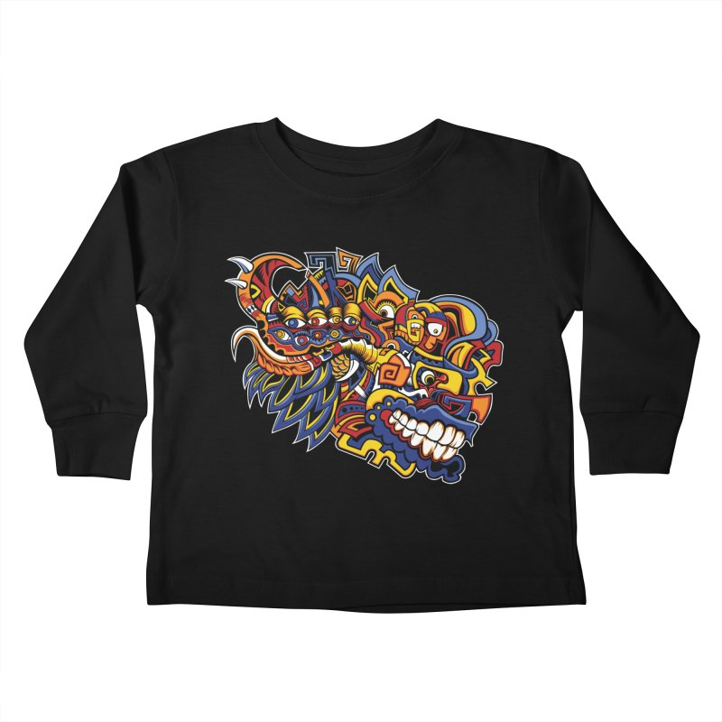 IFC_Design_C02 Kids Toddler Longsleeve T-Shirt by Art of Yaky Artist Shop