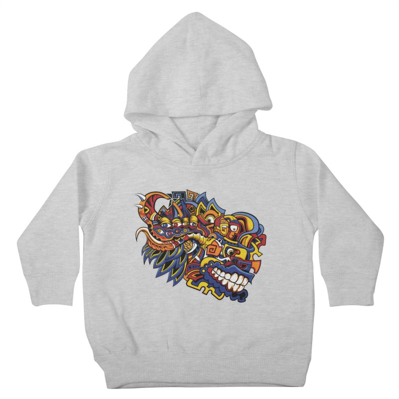 IFC_Design_C02 Kids Toddler Pullover Hoody by Art of Yaky Artist Shop