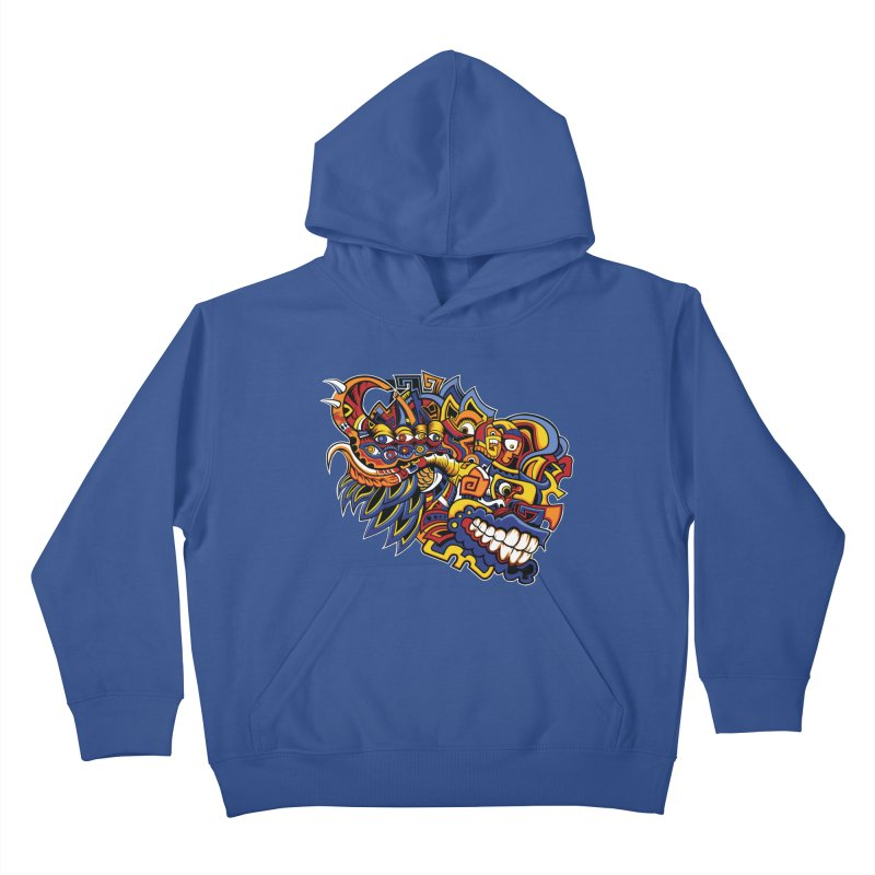IFC_Design_C02 Kids Pullover Hoody by Art of Yaky Artist Shop
