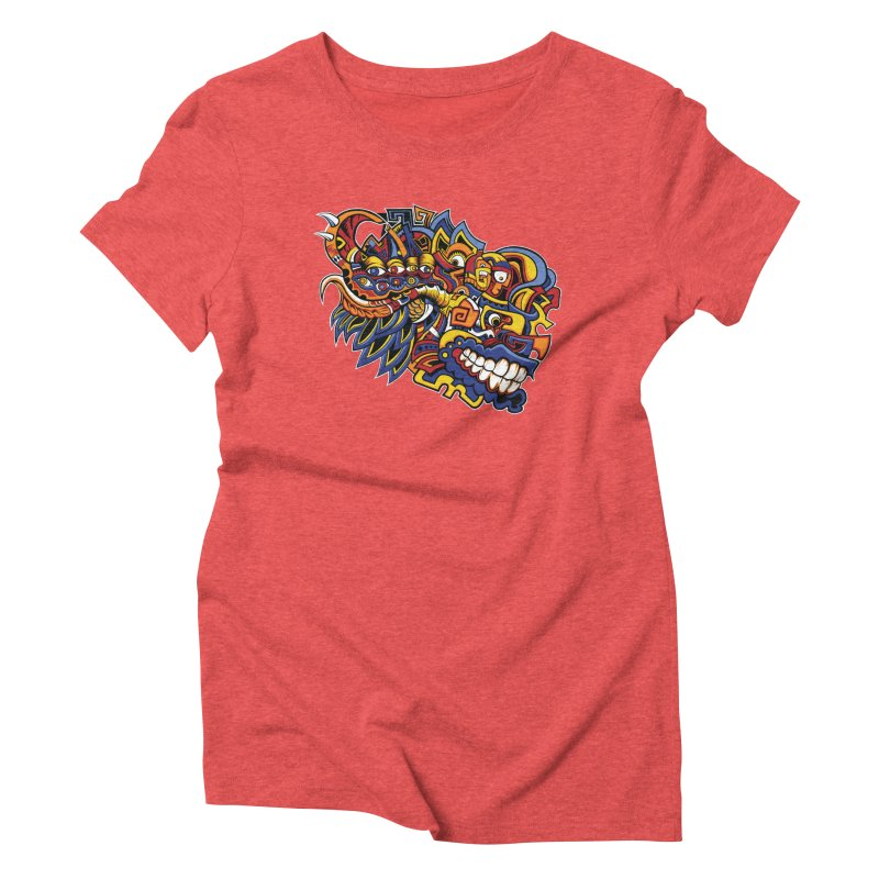 IFC_Design_C02 Women's Triblend T-Shirt by Art of Yaky Artist Shop
