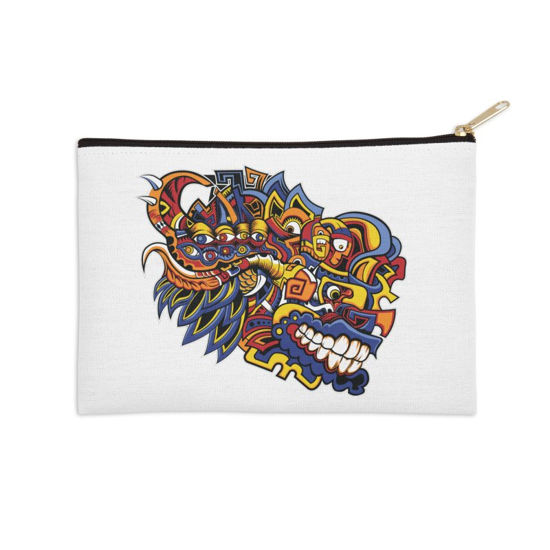 IFC_Design_C02 Accessories Zip Pouch by Art of Yaky Artist Shop