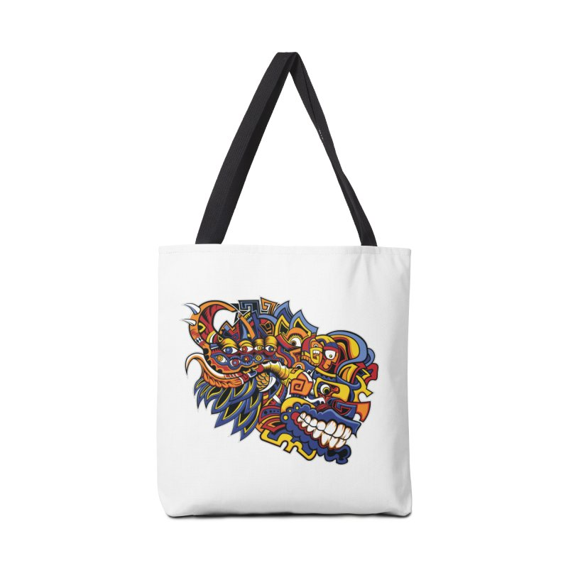 IFC_Design_C02 Accessories Tote Bag Bag by Art of Yaky Artist Shop