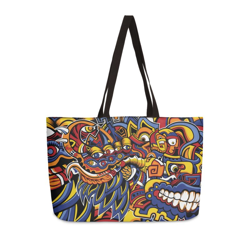 IFC_Design_C02 Accessories Weekender Bag Bag by Art of Yaky Artist Shop