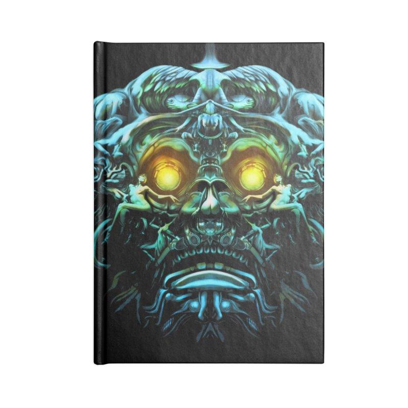 VK_Skull_B Accessories Notebook by Art of YakyArtist Shop