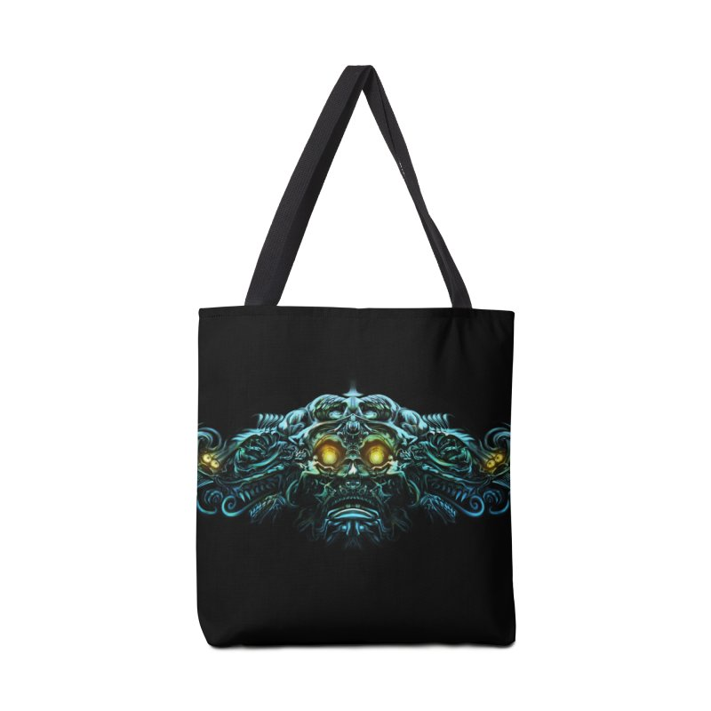 VK_Skull_B Accessories Bag by Art of YakyArtist Shop
