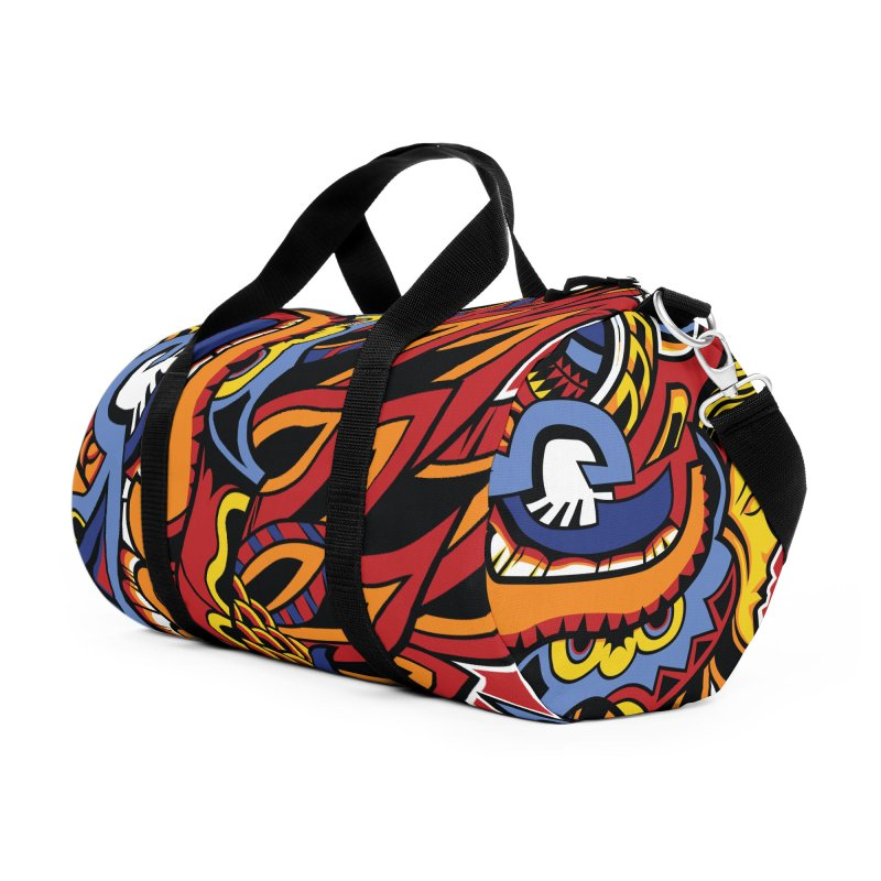 IFC_Design_C01 Accessories Duffel Bag Bag by Art of Yaky Artist Shop