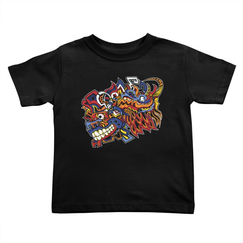 IFC_Design_C01 Kids Toddler T-Shirt by Art of Yaky Artist Shop