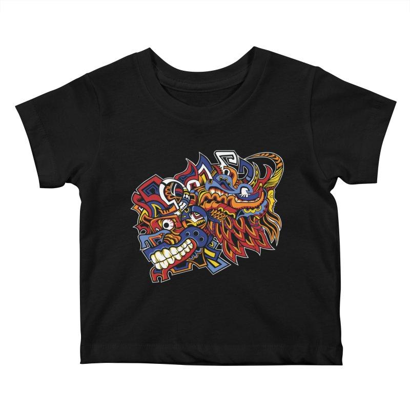 IFC_Design_C01 Kids Baby T-Shirt by Art of Yaky Artist Shop
