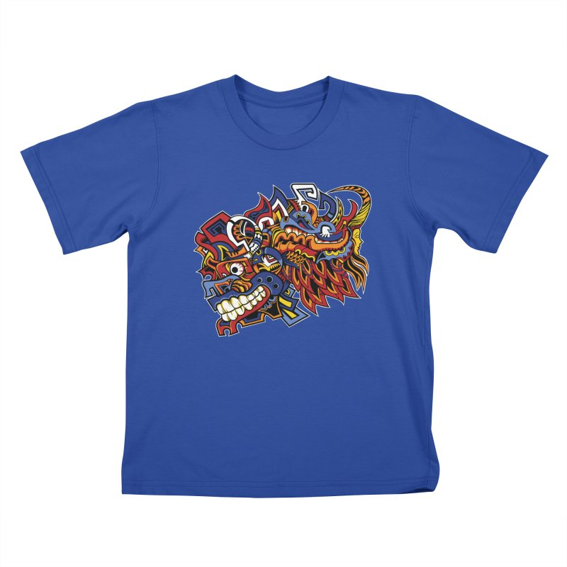 IFC_Design_C01 Kids T-Shirt by Art of Yaky Artist Shop