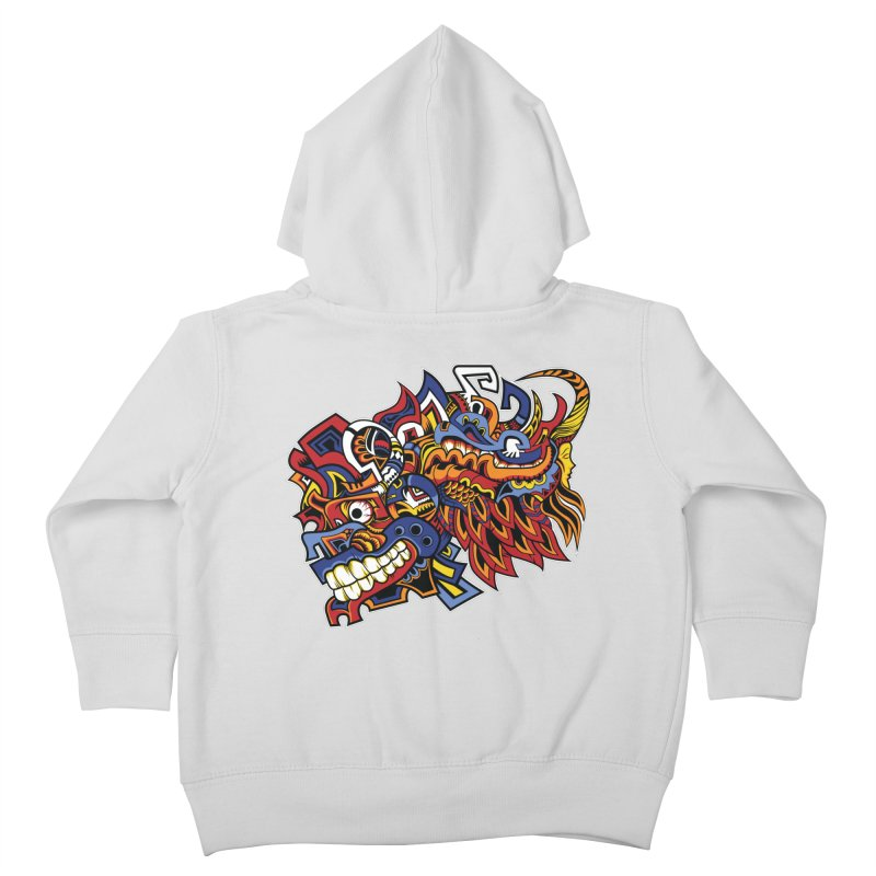 IFC_Design_C01 Kids Toddler Zip-Up Hoody by Art of Yaky Artist Shop