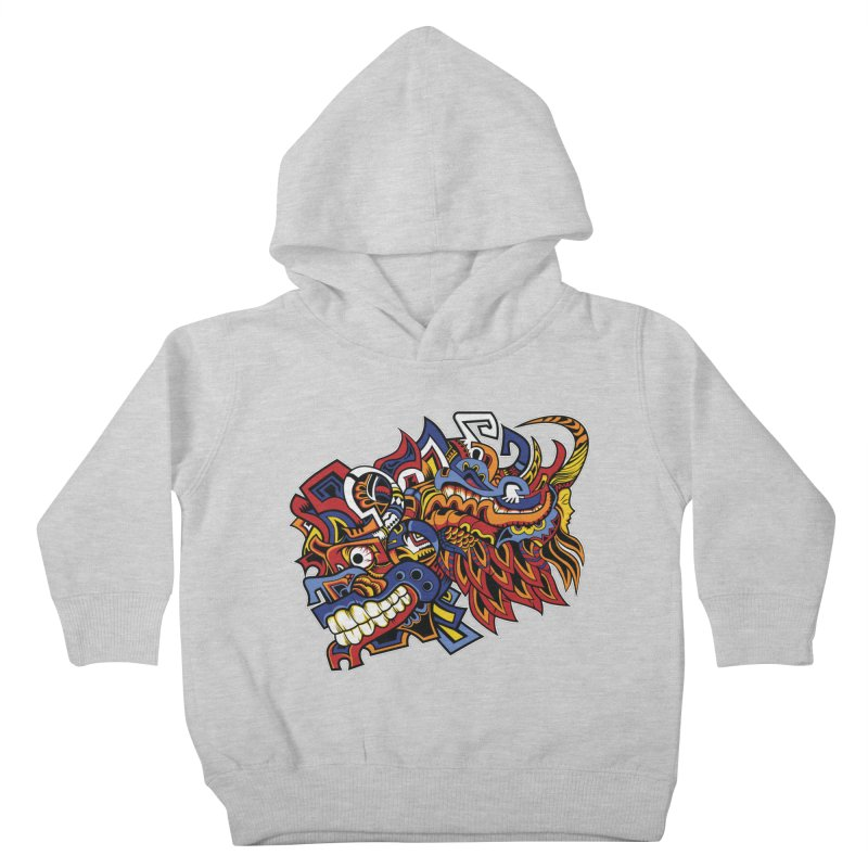 IFC_Design_C01 Kids Toddler Pullover Hoody by Art of Yaky Artist Shop