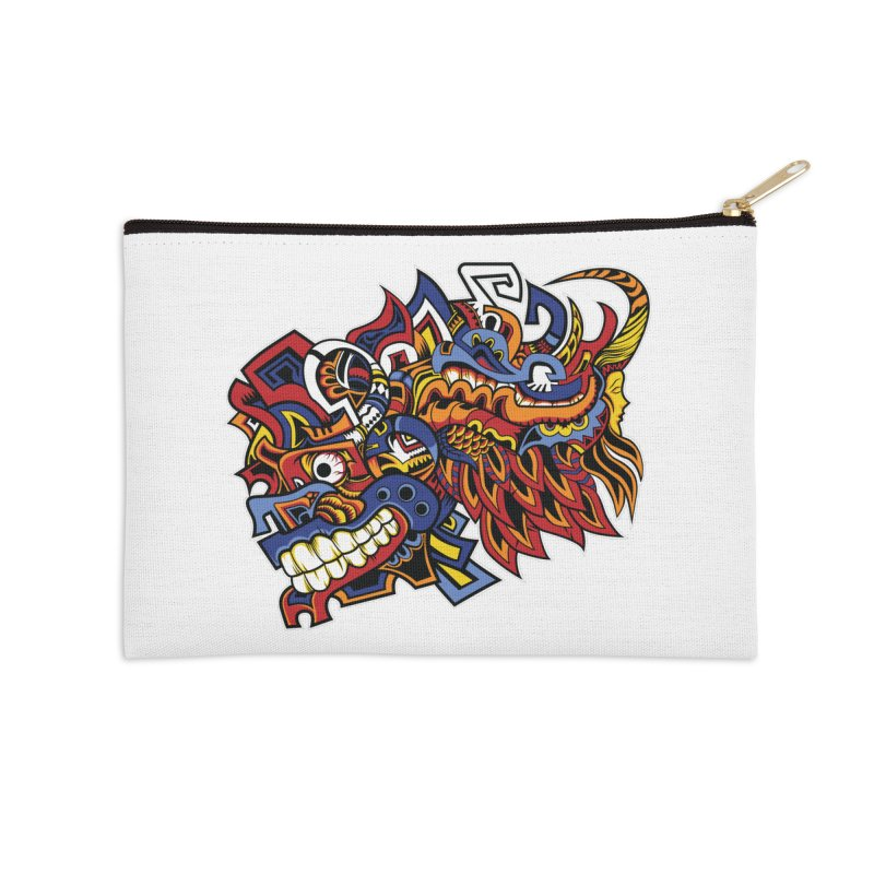 IFC_Design_C01 Accessories Zip Pouch by Art of Yaky Artist Shop