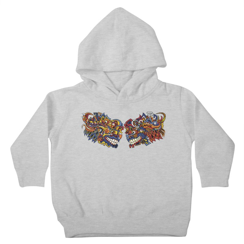 IFC_Design_C Kids Toddler Pullover Hoody by Art of YakyArtist Shop