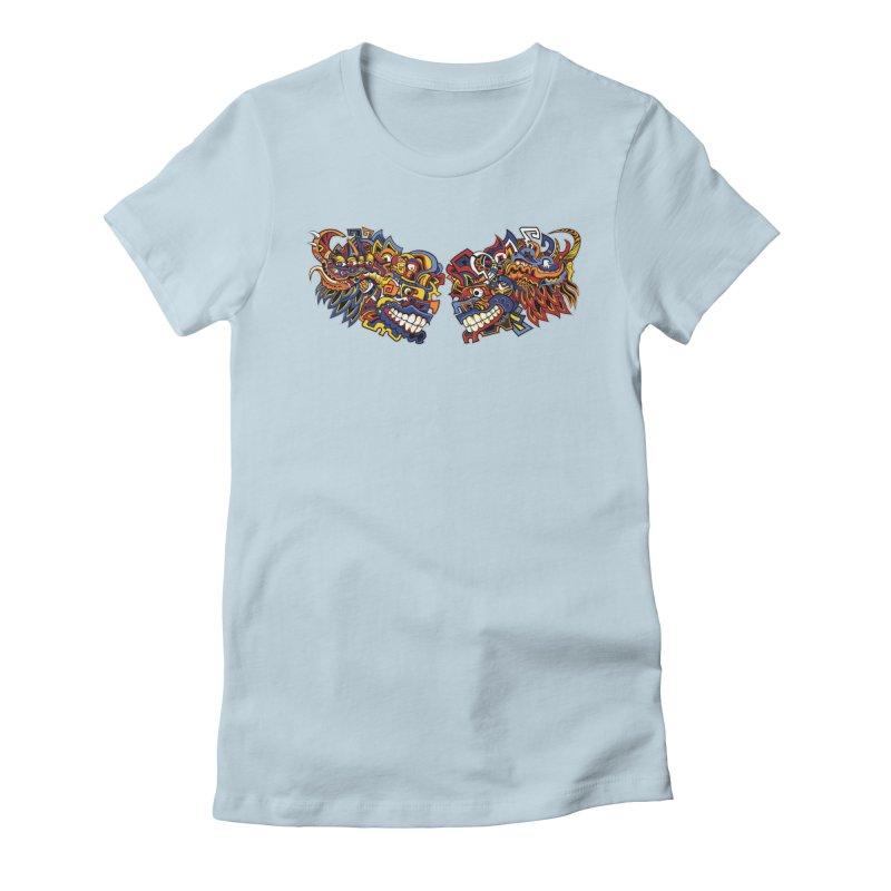 IFC_Design_C Women's Fitted T-Shirt by Art of YakyArtist Shop