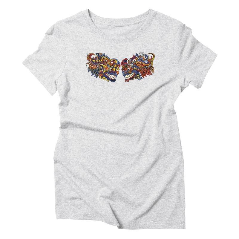 IFC_Design_C Women's Triblend T-Shirt by Art of YakyArtist Shop