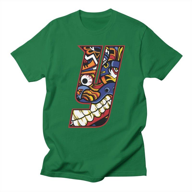IFC_Crazy_Y_C Men's Regular T-Shirt by Art of YakyArtist Shop