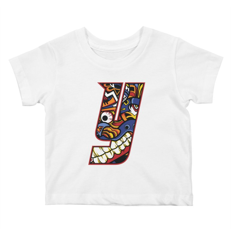 IFC_Crazy_Y_C Kids Baby T-Shirt by Art of YakyArtist Shop
