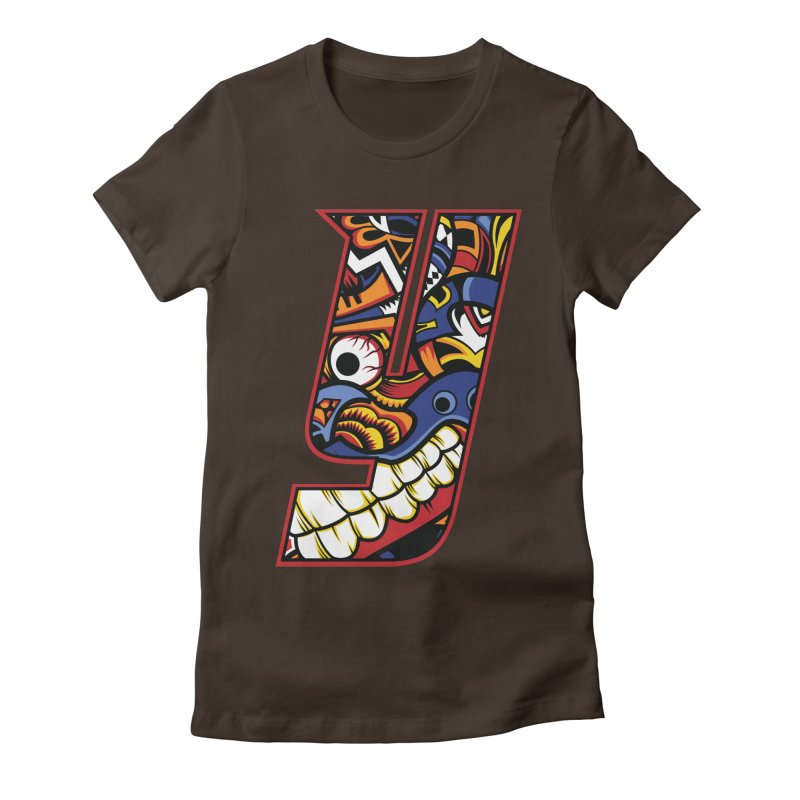 IFC_Crazy_Y_C Women's Fitted T-Shirt by Art of YakyArtist Shop