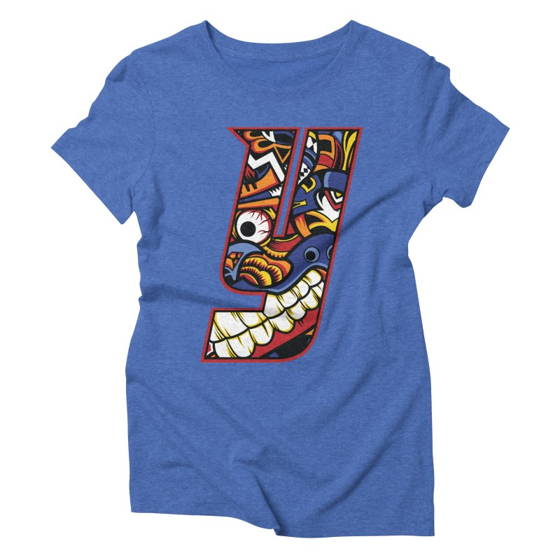 IFC_Crazy_Y_C Women's Triblend T-Shirt by Art of YakyArtist Shop