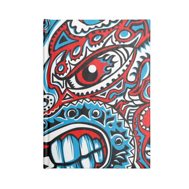 IFC_Crazy_Y_A Accessories Notebook by Art of YakyArtist Shop