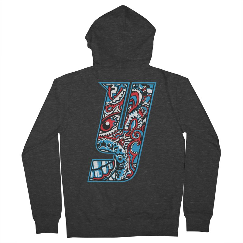 IFC_Crazy_Y_A Women's Zip-Up Hoody by Art of YakyArtist Shop