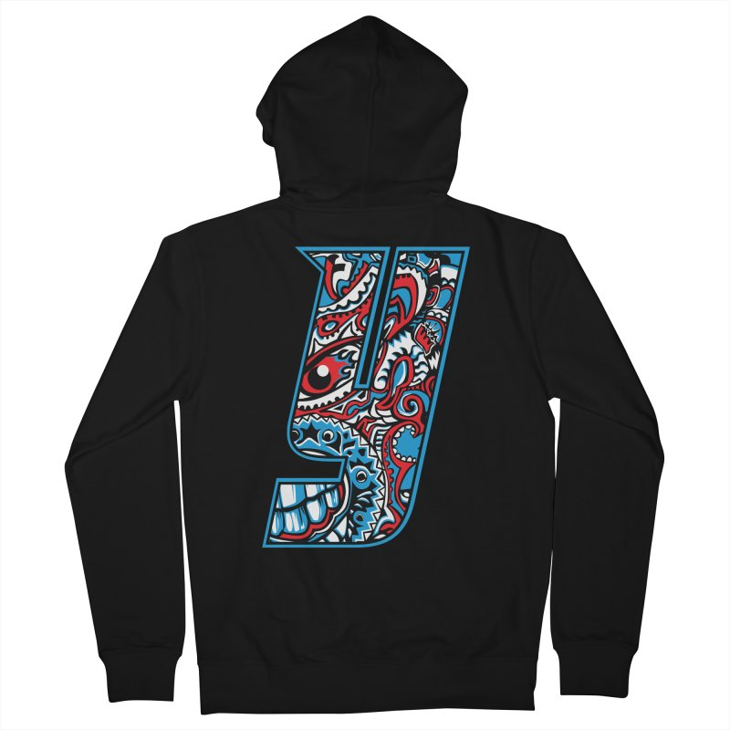 IFC_Crazy_Y_A Women's French Terry Zip-Up Hoody by Art of YakyArtist Shop