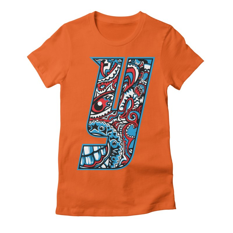 IFC_Crazy_Y_A Women's Fitted T-Shirt by Art of YakyArtist Shop